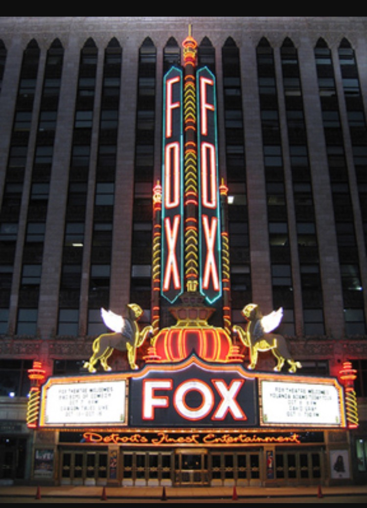 The Fox Theatre-Detroit, MI