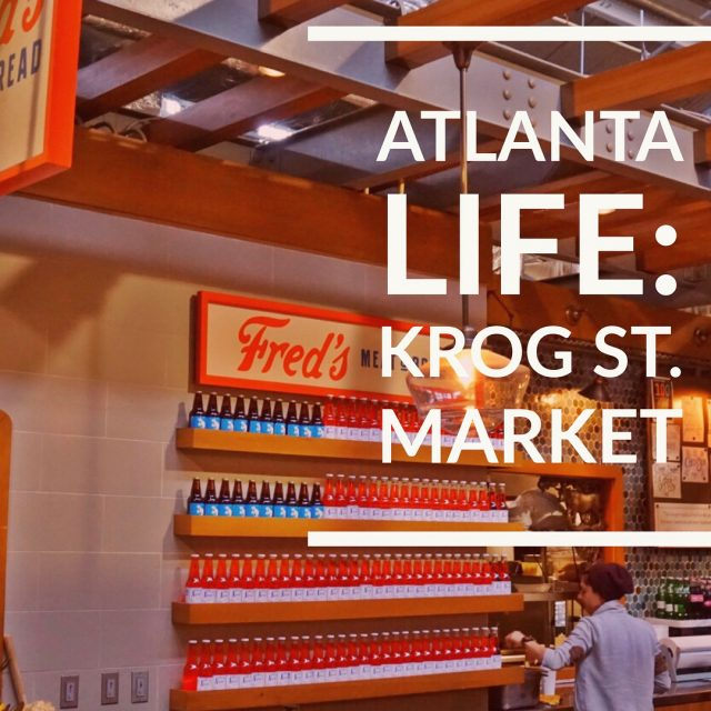 New blog post on Itsjoitomyworldcom Atlanta Life Krog St Markethellip