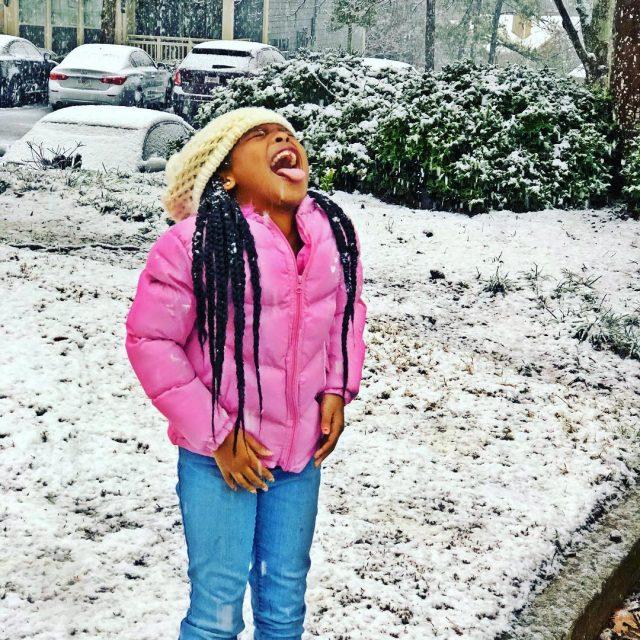 Oh to be a kid again  snowday atlanta snowmghellip