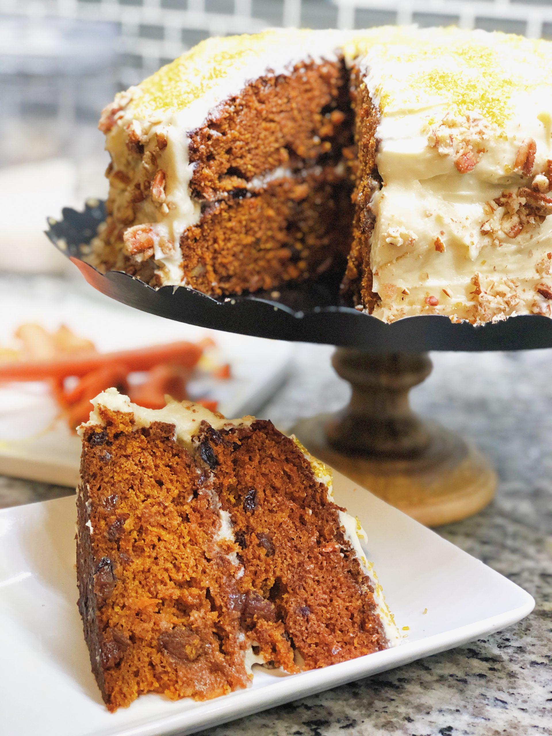 The Ultimate Carrot Cake Recipe