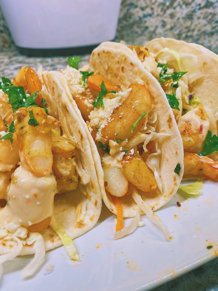 Super Simple Shrimp Tacos