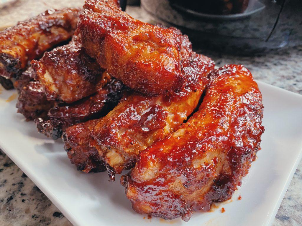 Yummy Air Fryer BBQ Ribs