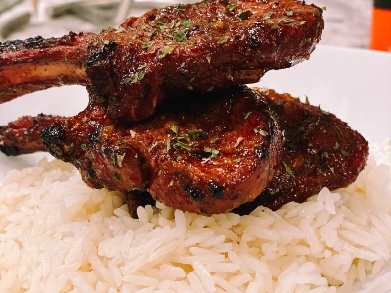 Get Into These Grilled Lamb Chops